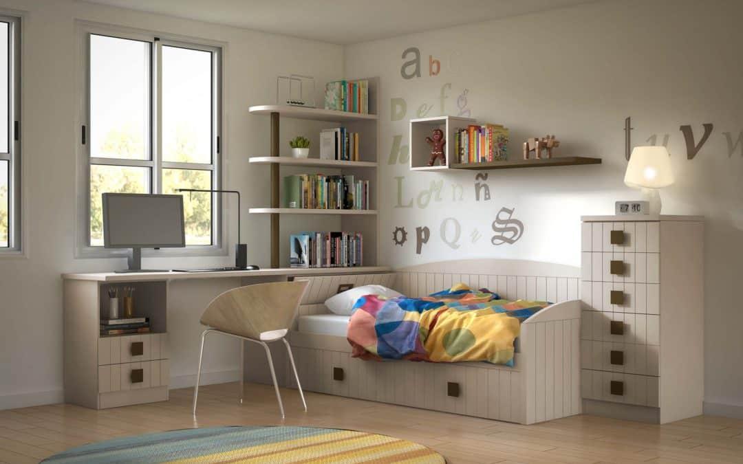 Cómo amueblar dormitorios juveniles
