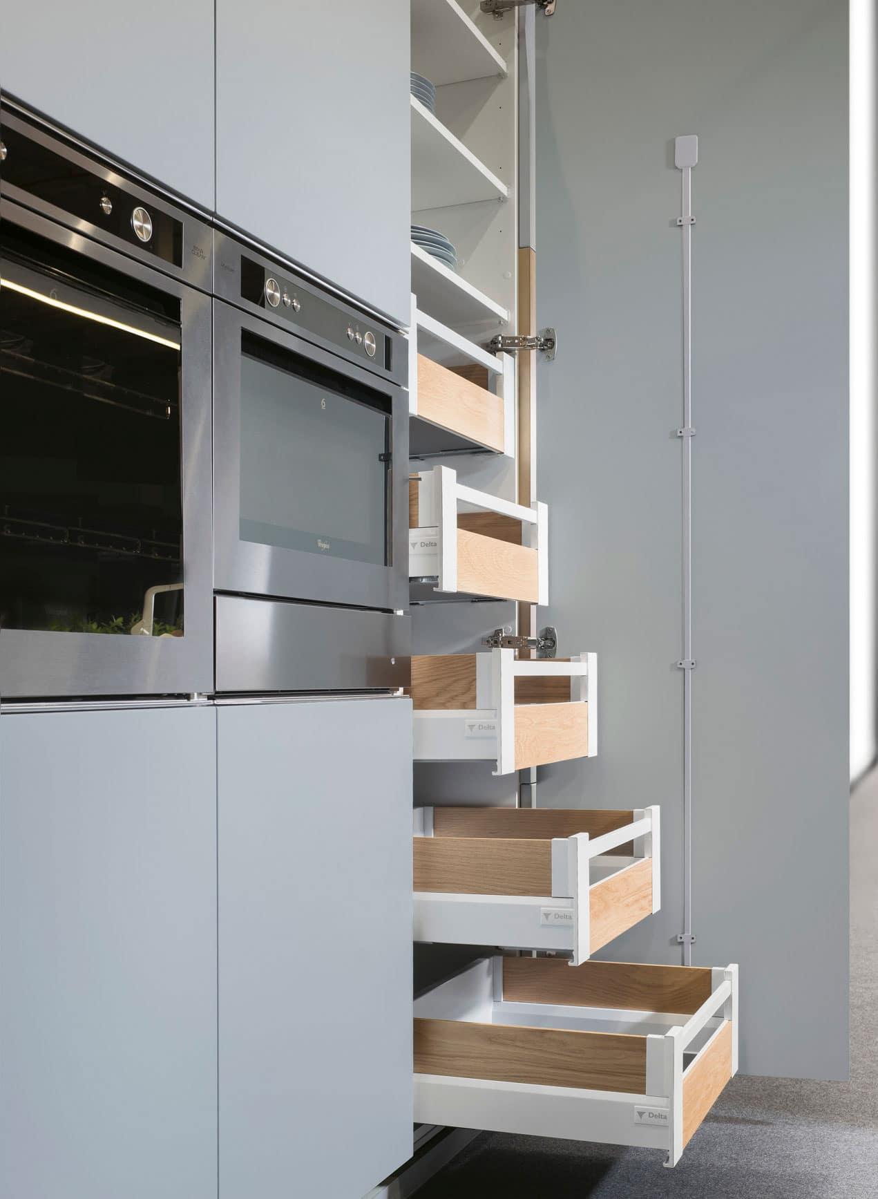 cocinas a medida y de diseño en estudio ambiente