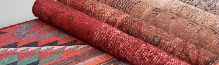 alfombras étnicas para tu hogar en estudio ambiente