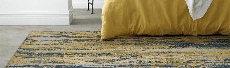 alfombras abstractas para tu hogar en estudio ambiente