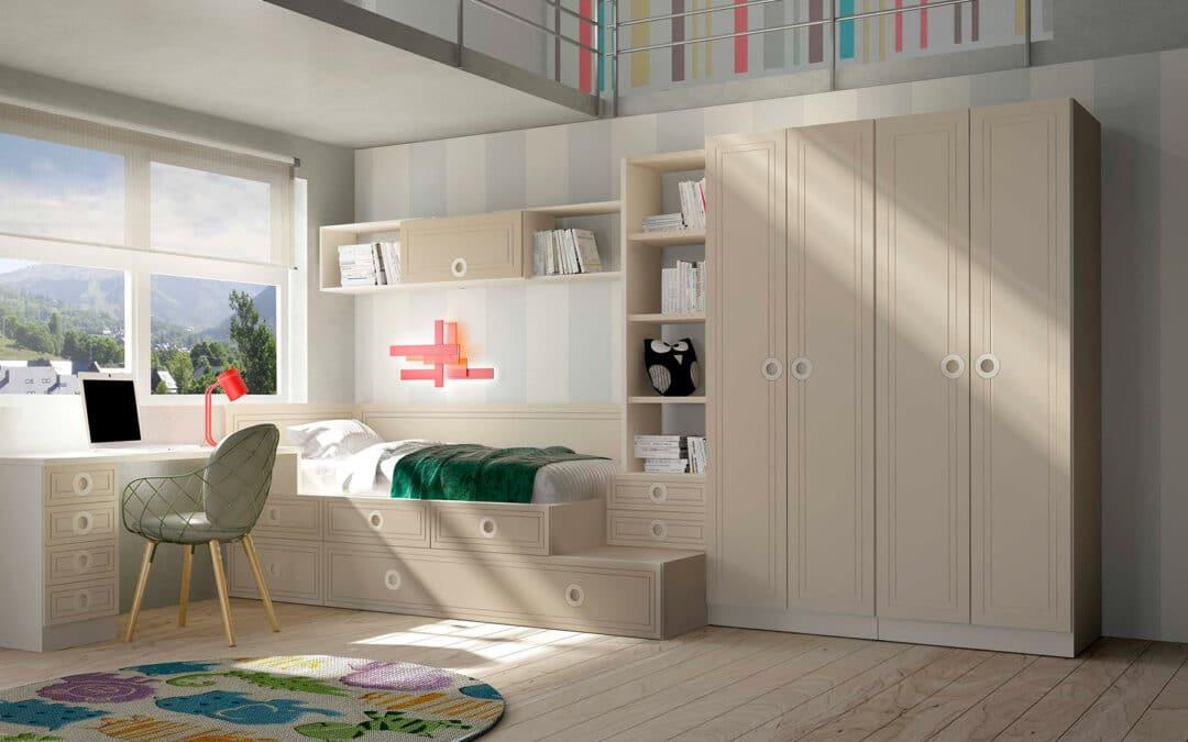 10 tips para dormitorios juveniles con escritorio