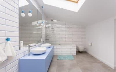 Baños pequeños modernos