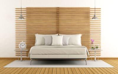 Ideas de decoración minimalista para un dormitorio de matrimonio