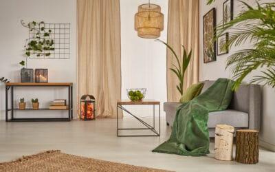 Tú salón moderno y acogedor para este otoño