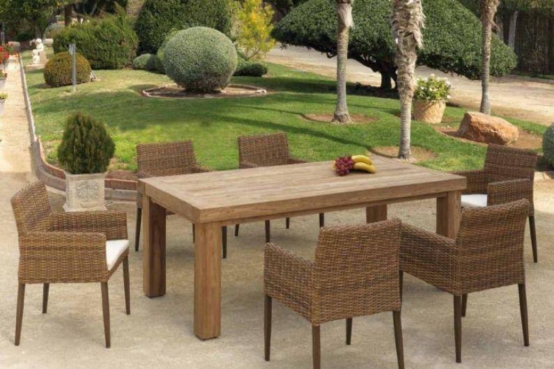 Conjunto muebles de jardín