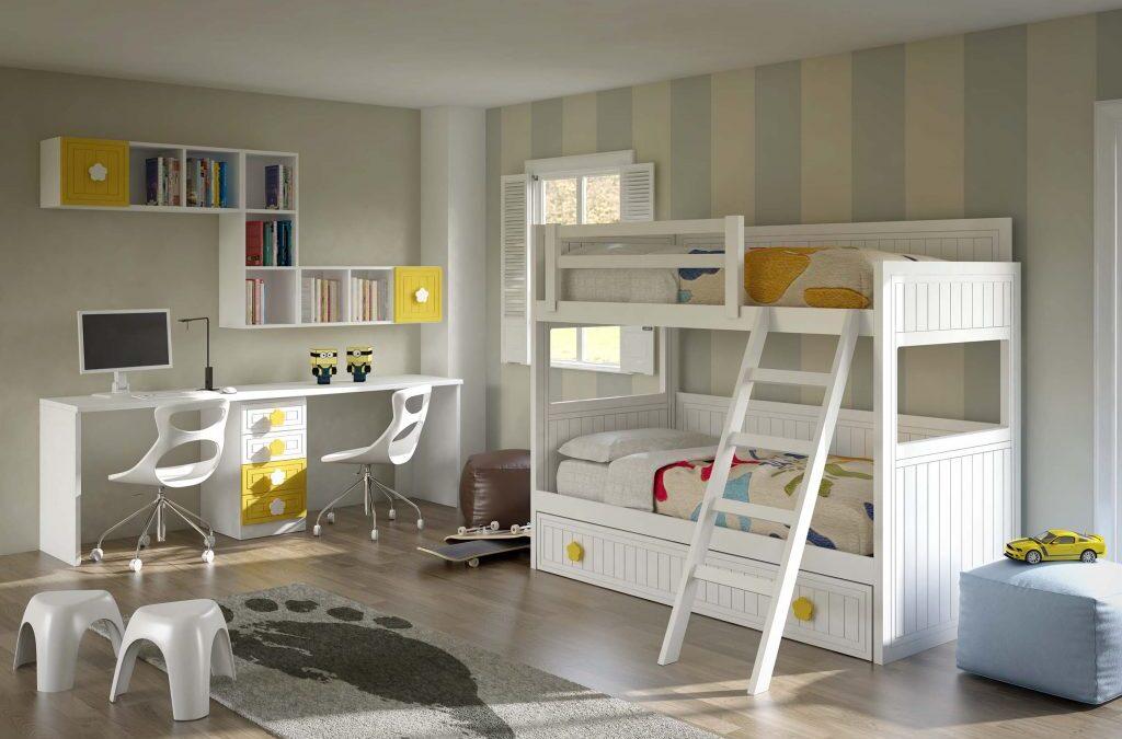 Ideas para decorar un dormitorio juvenil compartido